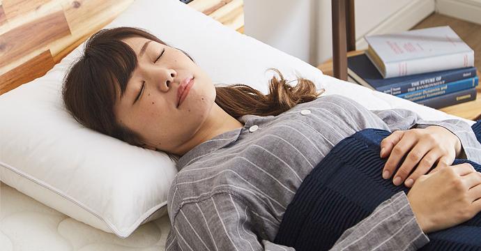 寝返りのしやすさが質の高い睡眠を促します